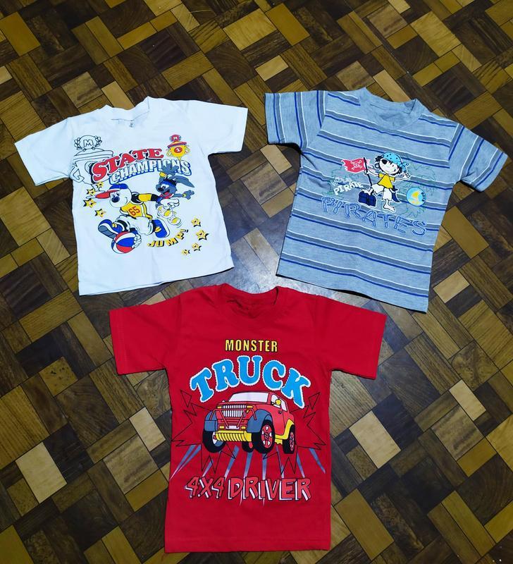 Пакет одежды футболки на 4-5-6 лет
