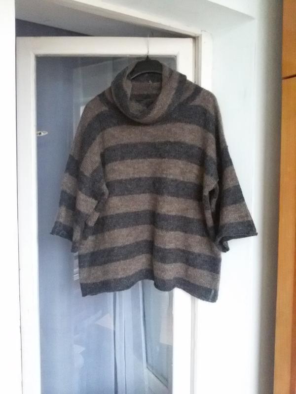 Свободный обьемный джемпер / свитер оверсайз marc o polo 70% м...