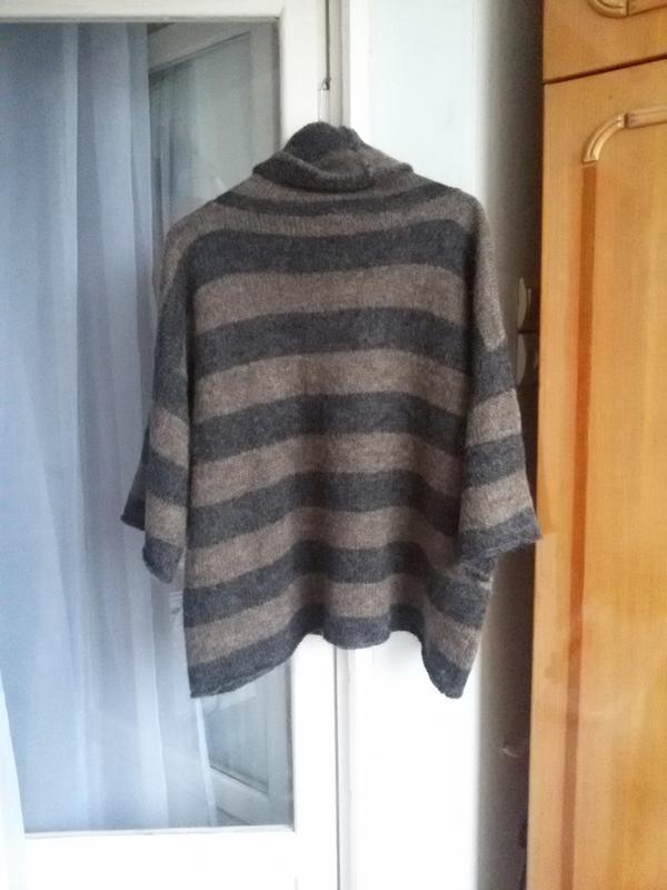 Свободный обьемный джемпер / свитер оверсайз marc o polo 70% м... - Фото 4