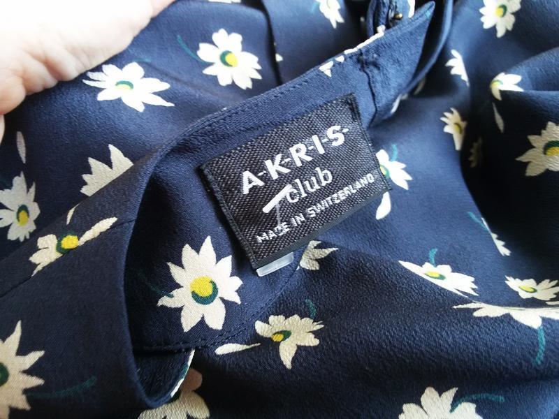 Шелковая блуза / футболка akris 100% шелк швейцария - Фото 3