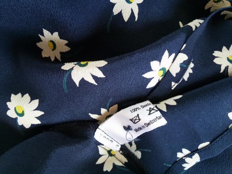 Шелковая блуза / футболка akris 100% шелк швейцария - Фото 4