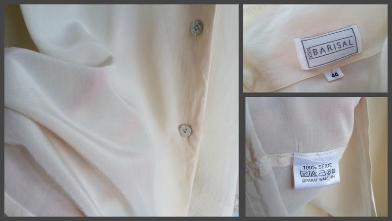 Шелковая рубашка barisal 100% шелк - Фото 5