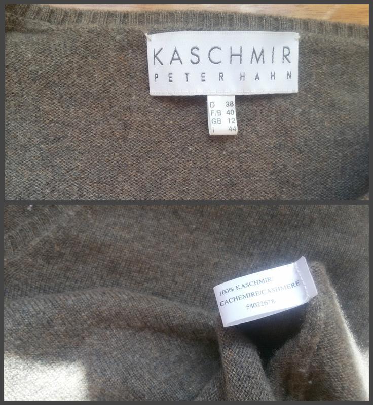 Кашемировый джемпер peter hahn 100% кашемир - Фото 4