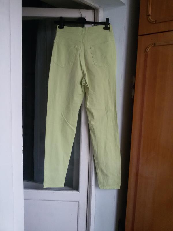Джинсовые брюки escada sport высокая посадка - Фото 2