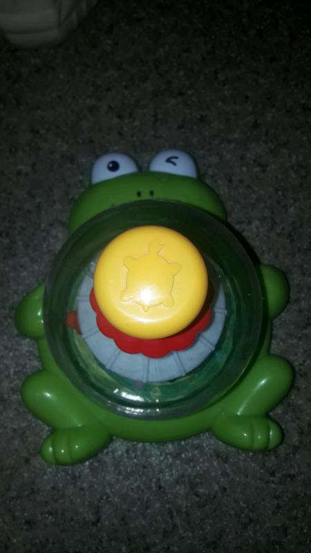 Юла лягушка