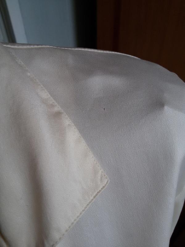 Шелковая рубашка для дома 100% натуральный шелк galaxy швейцария - Фото 7