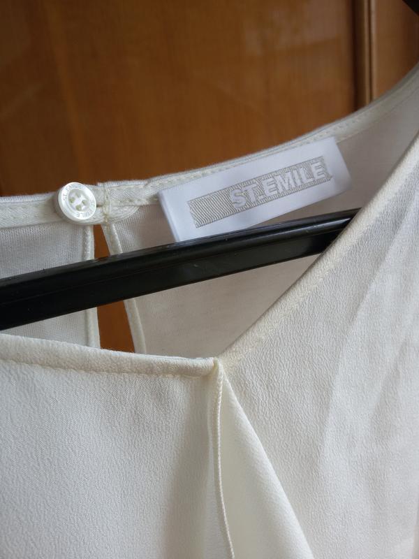 Шелковая блуза st emile - Фото 6