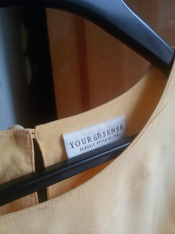 Шелковая футболка your sixth sense 100% шелк - Фото 4