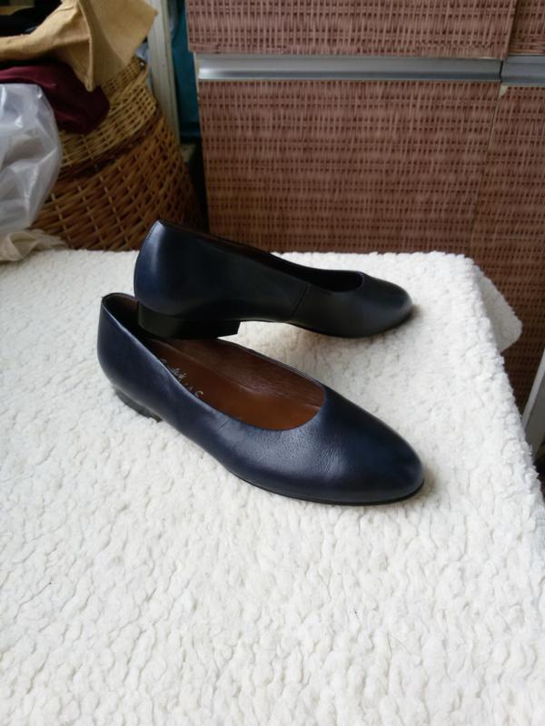 Стильные кожаные туфли brigitte von servas германия 100% кожа