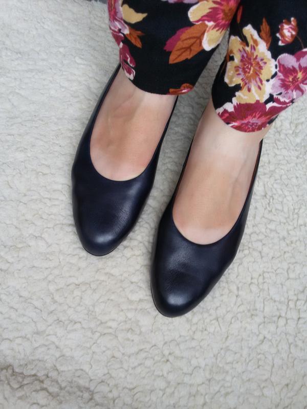 Стильные кожаные туфли brigitte von servas германия 100% кожа - Фото 5