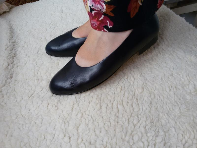 Стильные кожаные туфли brigitte von servas германия 100% кожа - Фото 6