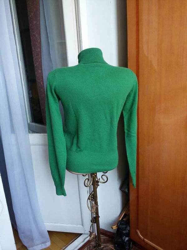 Роскошный кашемировый свитер  с высоким воротом allude 100% ка... - Фото 3