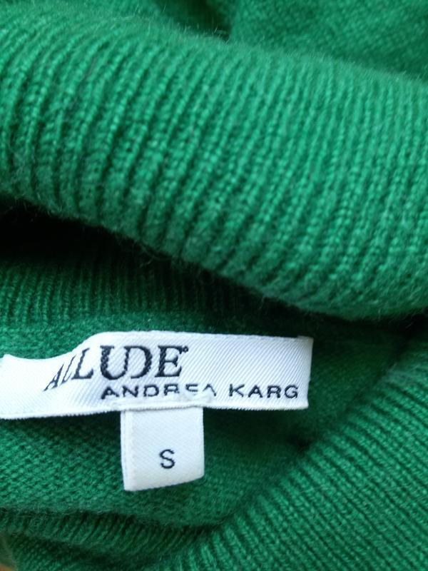Роскошный кашемировый свитер  с высоким воротом allude 100% ка... - Фото 4