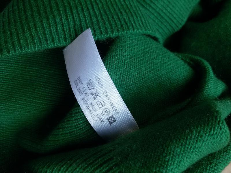 Роскошный кашемировый свитер  с высоким воротом allude 100% ка... - Фото 5