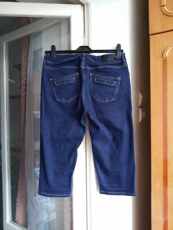 Стильные джинсовые шорты  river island 12 размер - Фото 5
