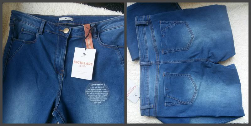 Роскошные стильные джинсы клеш 14размер - Фото 2