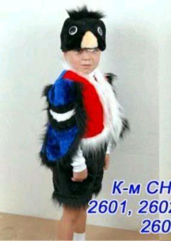 Костюм Снегиря 4-7 лет, детский карнавальный костюм