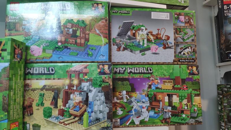 Конструктор Minecraft - Фото 3