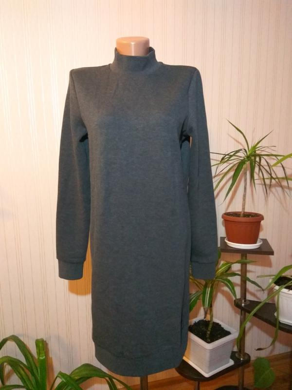 Теплое платье на флисе размер xs