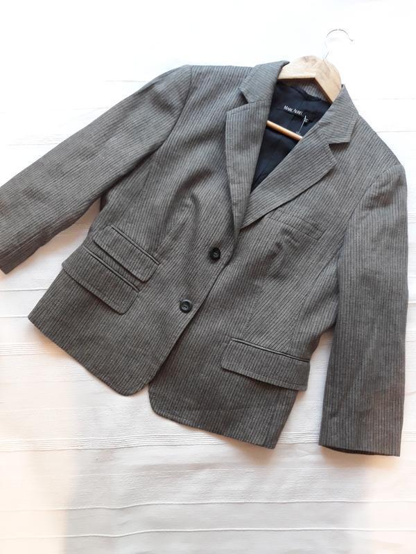 Marc aurel новый брендовый жакет#пиджак#блейзер шерсть#лен, в ...