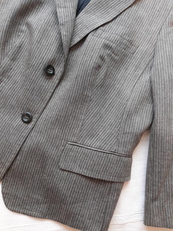 Marc aurel новый брендовый жакет#пиджак#блейзер шерсть#лен, в ... - Фото 2