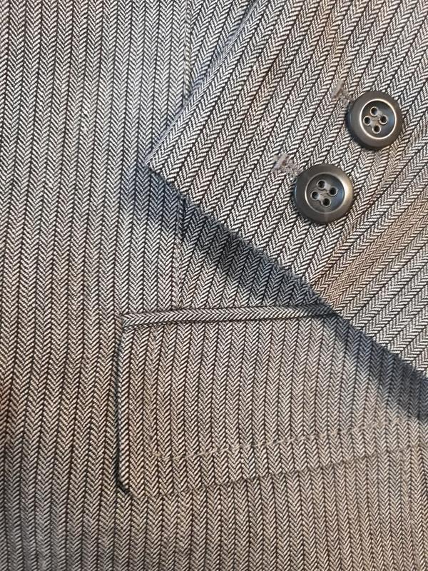 Marc aurel новый брендовый жакет#пиджак#блейзер шерсть#лен, в ... - Фото 5