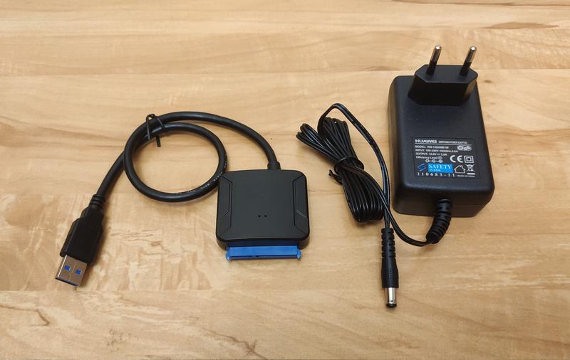 Адаптер USB 3.0 на SATA для HDD/SDD 2,5/3,5