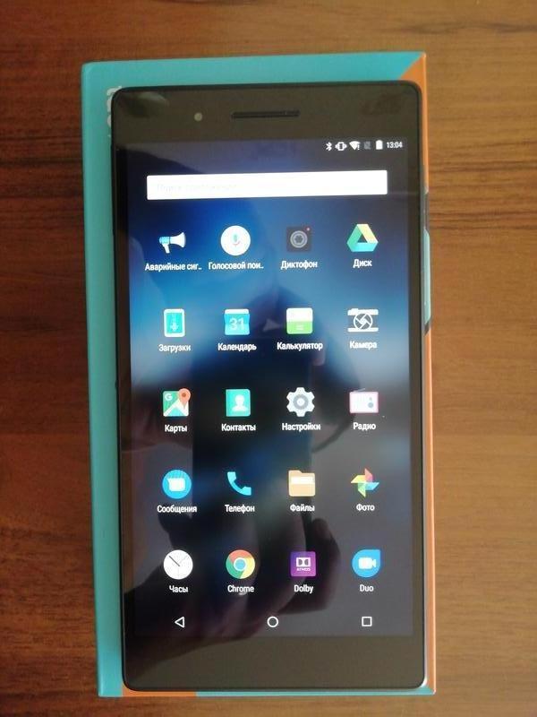 "Планшет Lenovo Tab 4 TB-7504X 7"" LTE 2/16Gb Black - Фото 3"