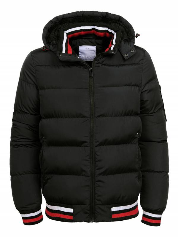 Мужская зимняя короткая куртка Glo-Story