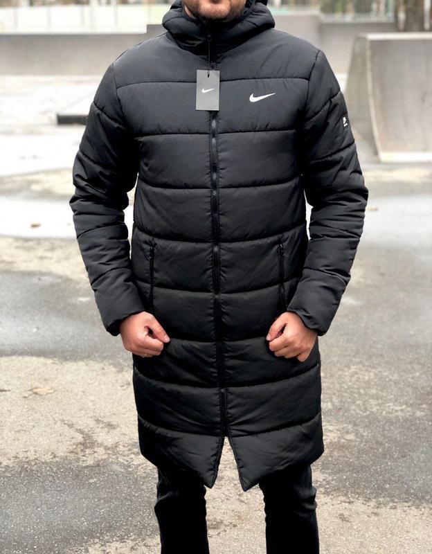 Удлинённая зимняя куртка