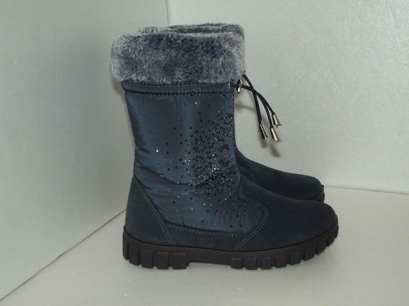 Новые зимние сапожки для девочки