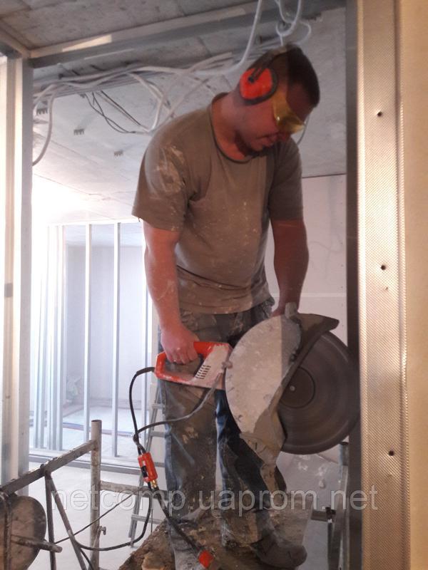 Алмазное сверление, резка стен, перекрытий, бетона, кирпича