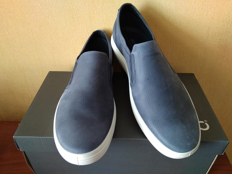 Туфли слипоны мужские ecco soft 7