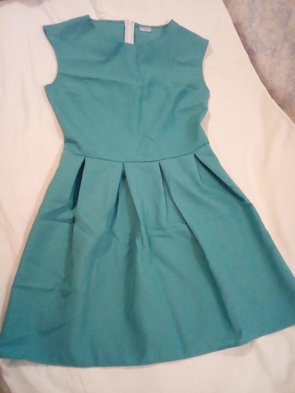 Идеальное бирюзовое платье