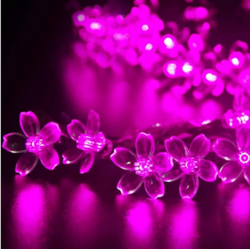 Гирлянда цветы на солнечной батарее 50LED 7м разные цвета 8 режим - Фото 16
