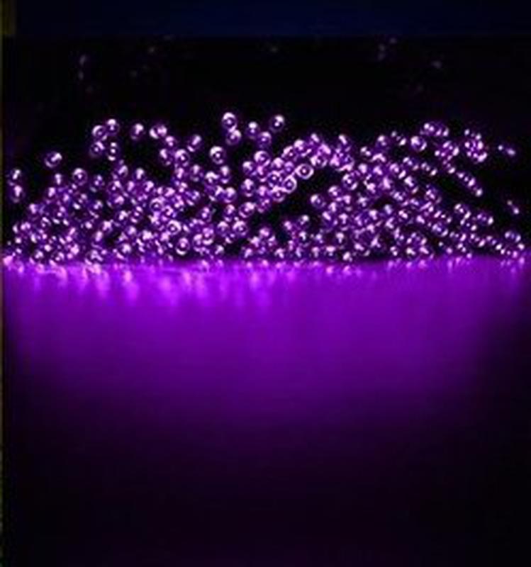 Гирлянда на солнечной батарее 100 LED 12м разные цвета 8 режимов - Фото 11