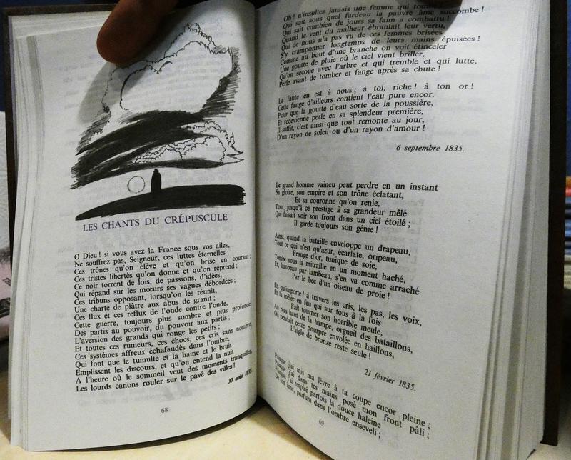 Сборник прозы и поэзии Виктора Гюго в оригинале - Фото 4