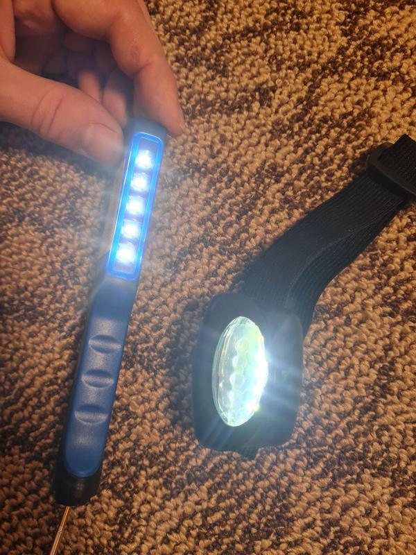 Фонарик фонарь налобный ручной Philips LPL18