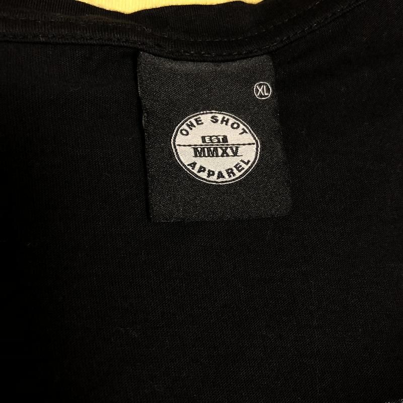 Мужская удлинённая футболка от one shot (#1f385) - Фото 4