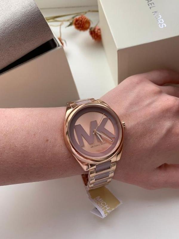 Женские часы Michael Kors MK7135 'Janelle' - Фото 5