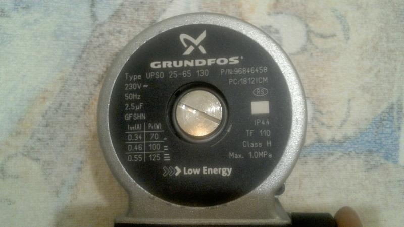 Насос GRUNDFOS UPSO 26-40 130