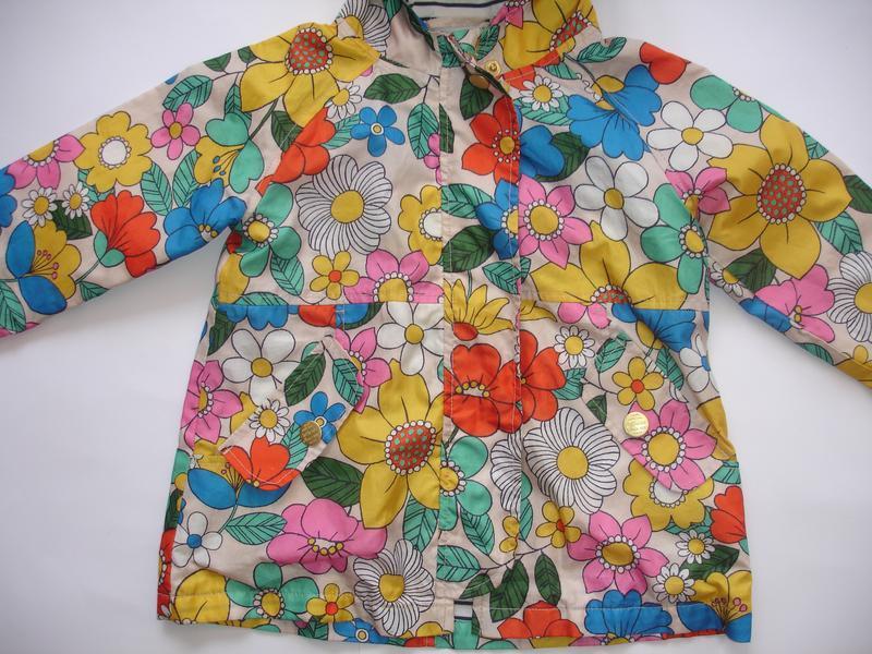 Фирменный next классный плащ куртка девочке 1,5-2,5 лет идеал - Фото 2