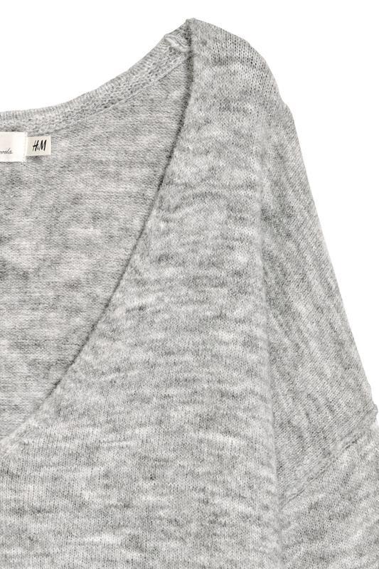 H&m пуловер джемпер из трикотажа джерси оверсайз - Фото 2