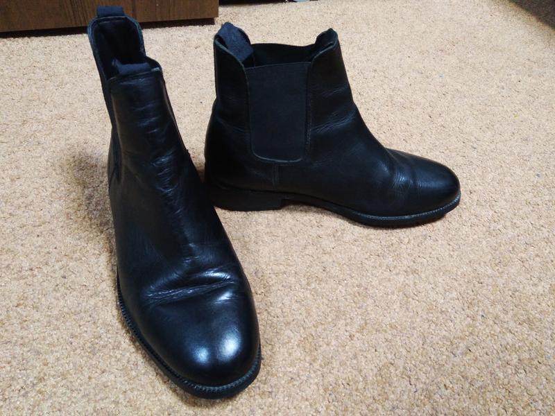 Очень качественные кожаные ботинки!