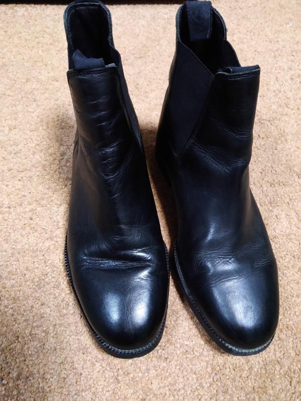 Очень качественные кожаные ботинки! - Фото 2