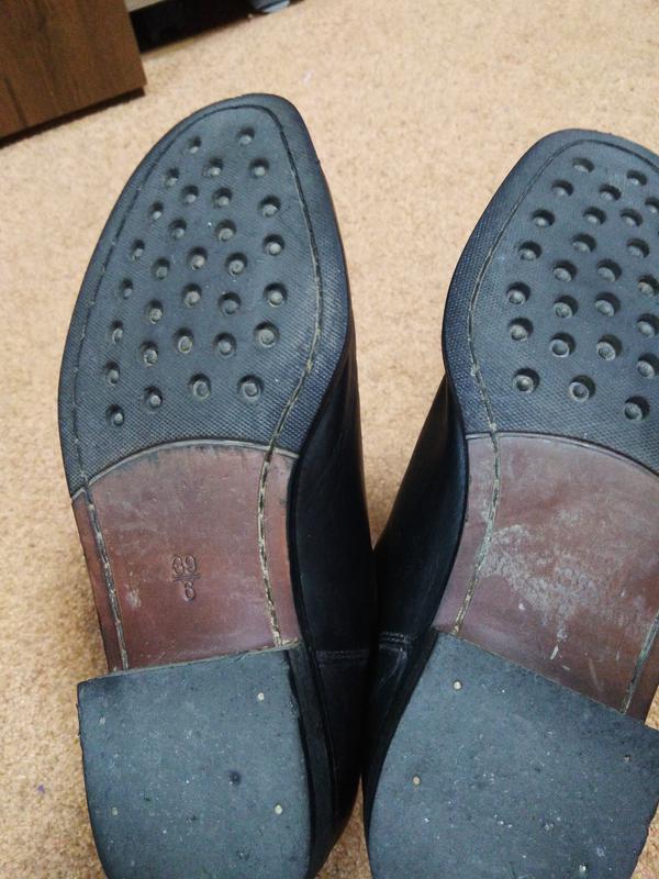 Очень качественные кожаные ботинки! - Фото 4