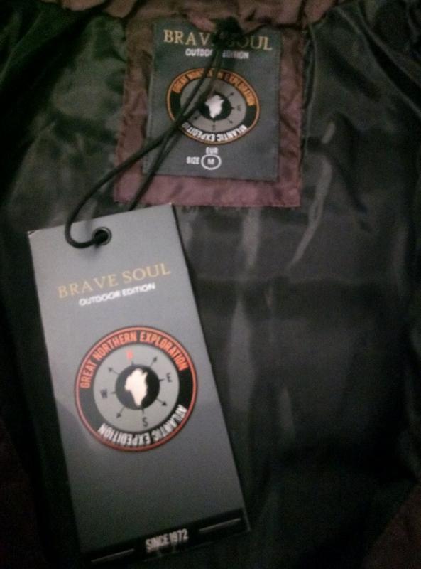 Новая куртка brave soul оригинал