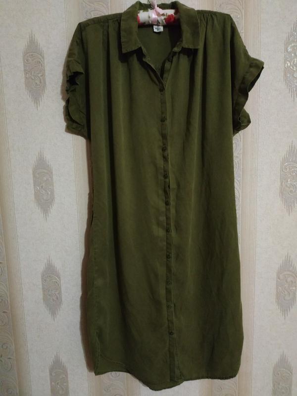 Платье-рубашка р.м