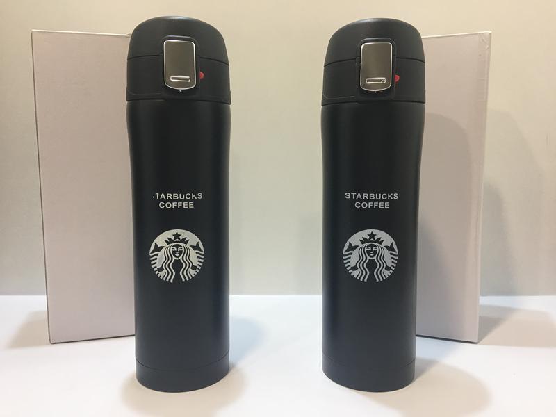 "Термокружка ""Starbucks"", термос 500 мл., черная"