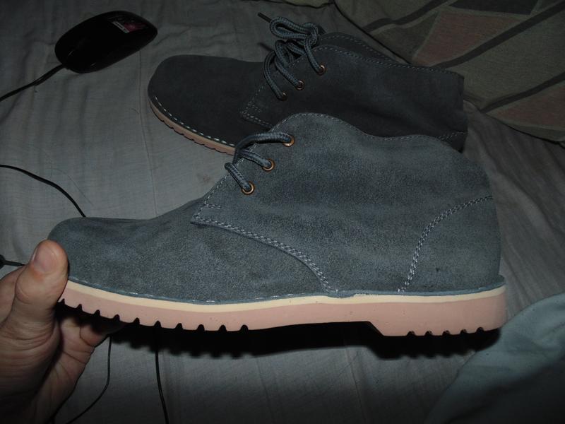 Туфли ботинки замшевые абсолютно новые челси